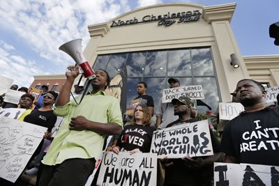 Charleston NC Shooting Protest